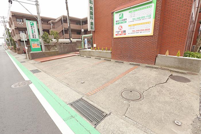 駐車場(医院前)